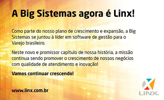 BIG Sistemas agora é Linx.